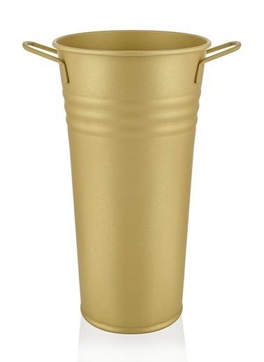 The Mia Vazo 50 Cm - Gold Altın